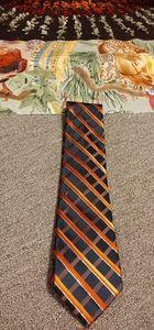 Croft & Barrow Orange/Black Tie